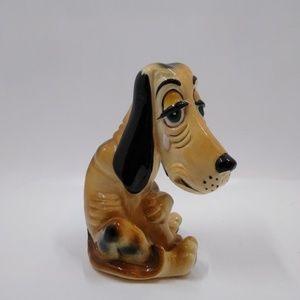 Hound Dog Ceramic Figurine